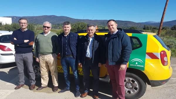 Mejoras en carreteras de Jimena y Castellar