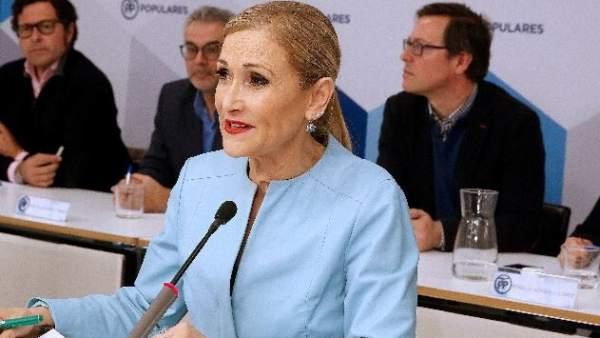 Cristina Cifuentes, presidenta madrileña