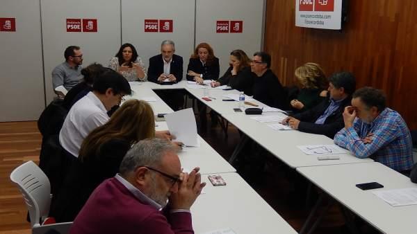 Reunión de la Sectorial de Sanidad del PSOE de Córdoba