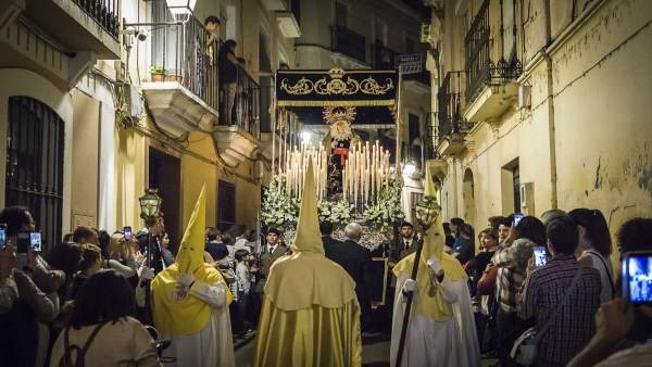 Procesión 'Oración en el huerto' de Badajoz