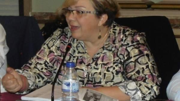 La concejal de IU en el Ayuntamiento de Huelva,Mónica Rossi.