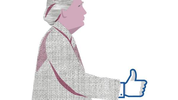 Donald Trump y Facebook