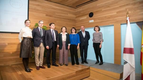 Gamarra en el foro de innovación en Logroño