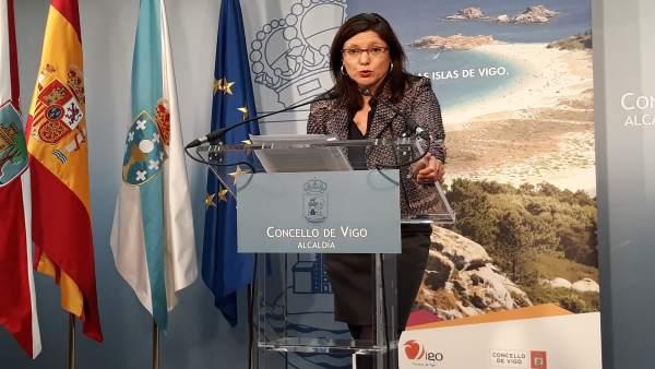 La concejala de Urbanismo de Vigo, María José Caride