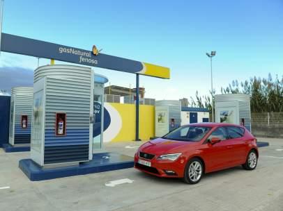 Estación de carga de gas natural