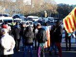 Cortes de tráfico en Barcelona