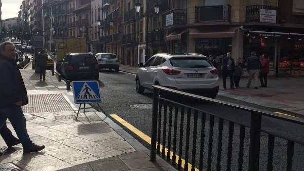 Calle El Rosal en Oviedo