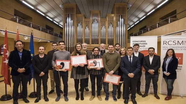 Ganadores del Concurso Juventudes Musicales de España