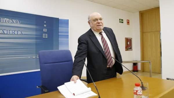 Sala De Prensa Del Gobierno De Cantabria El Consejero De Economía, Hacienda Y E