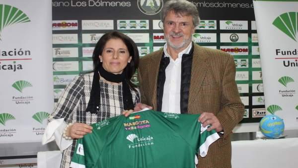 Fundación Unicaja Colaborará Con El Club De Balonmano Los Dólmenes De Antequera