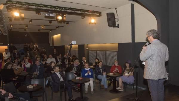 Inaguración de la Sala Negra de Teatro de Logroño