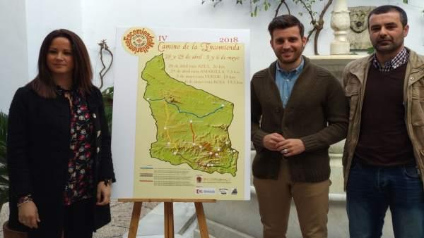 Torralbo (centro) presenta el 'Camino de la Encomienda Mellariense'