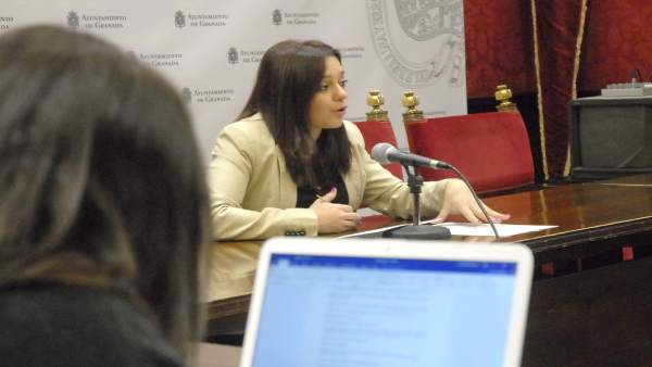 La concejal de Derechos Sociales, Jemi Sánchez