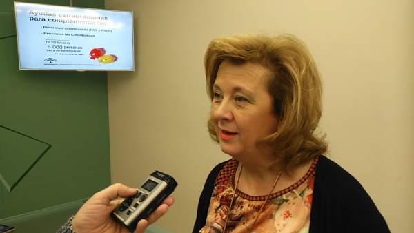 Vega informa sobre complementos a pensiones asistenciales y no contributivas.