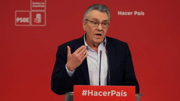 Manuel Escudero, secretario de Política Económica y Empleo del PSOE, en Ferraz.
