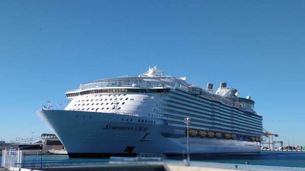 Symphony of the Seas en su estreno en Málaga