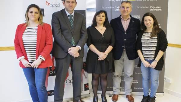 Convenio Fundación Cajastur con Apaci