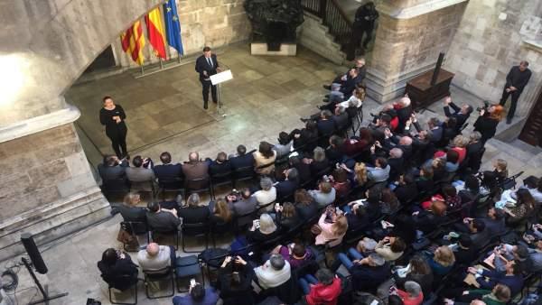 """Puig, sobre la proposta d'Iceta: """"No sé si és possible o no, però cal reactivar la via política"""""""