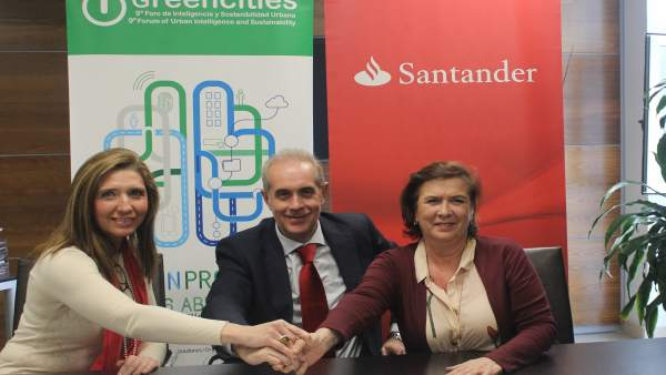 Convenio entre Greencities y el Banco Santander