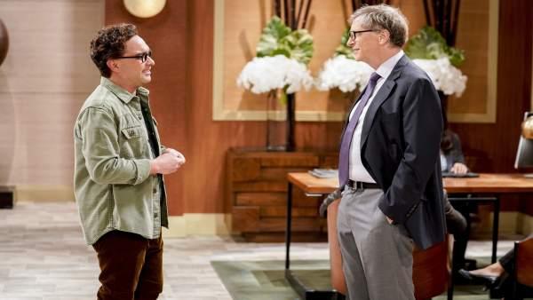 El Cameo De Bill Gates En The Big Bang Theory