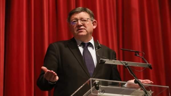 """Puig reclama que els PGE """"facen justícia"""" a la Comunitat Valenciana i arrepleguen les inversions que li corresponen"""