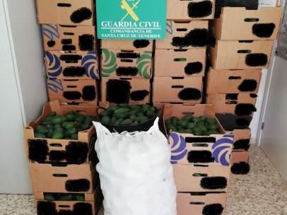 La Guardia Civil Investiga A Cuatro Personas Por El Robo De Más De 8.000 Kg De A