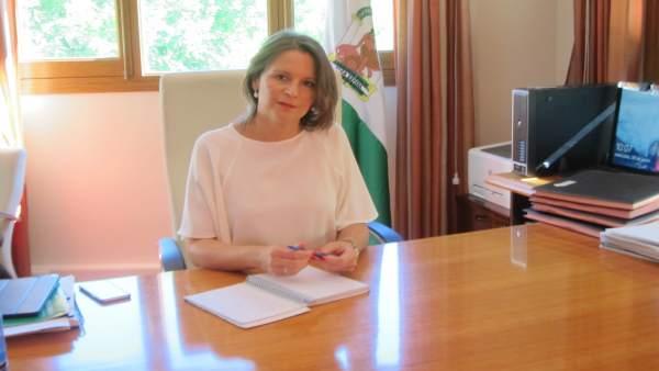 Ana Cobo, delegada del Gobierno andaluz en Jaén