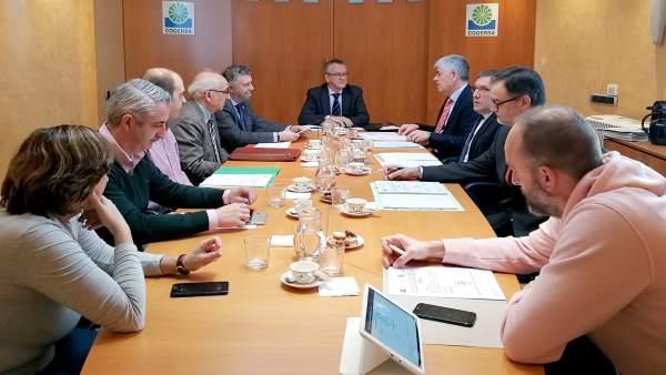 Reunión del consejo de administración de Cogersa.