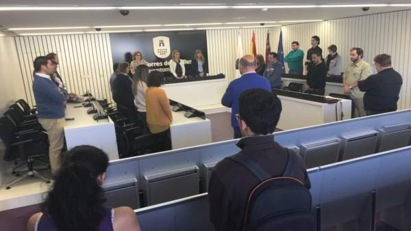 Imagen del Pleno del Ayuntamiento de Las Torres de Cotillas