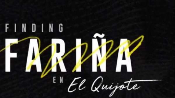 Captura de pantalla de la página web 'Finding Fariña'.