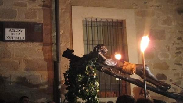El Cristo Negro de Cáceres