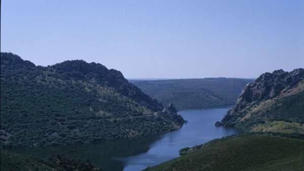 Salto del Gitano en Monfragüe