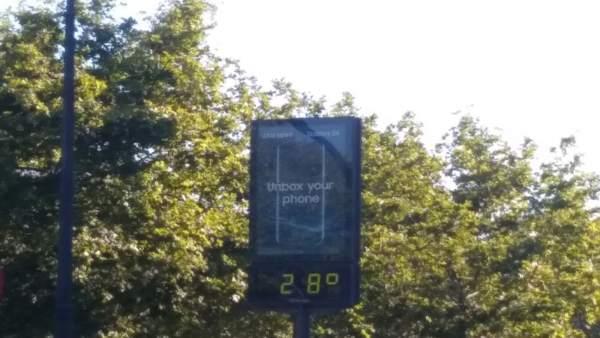 Les temperatures arribaran aquest dimecres fins als 28 graus a la Comunitat Valenciana