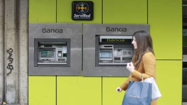 Sucursal del banco Bankia