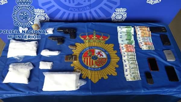 Diez detenidos en Galicia y Asturias por tráfico de cocaína