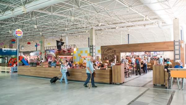 Burger King en el Aeropuerto de Fuerteventura