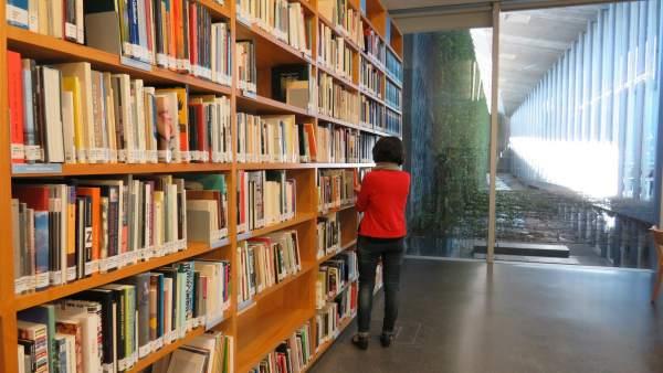 Biblioteca de arte del TEA