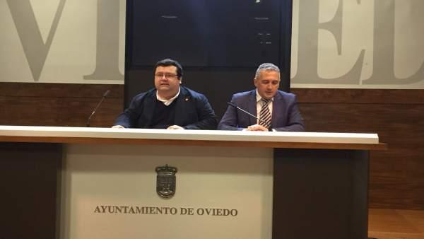 Luis Pacho y Luis Zaragoza