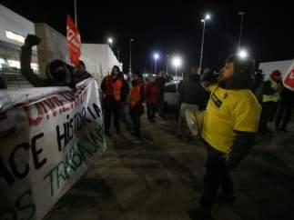Seguimiento huelga de Amazon en San Fernando de Henares