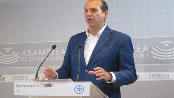El diputado del PP Luis Alfonso Hernández Carrón