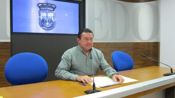 El concejal del PP José Ramón Pando