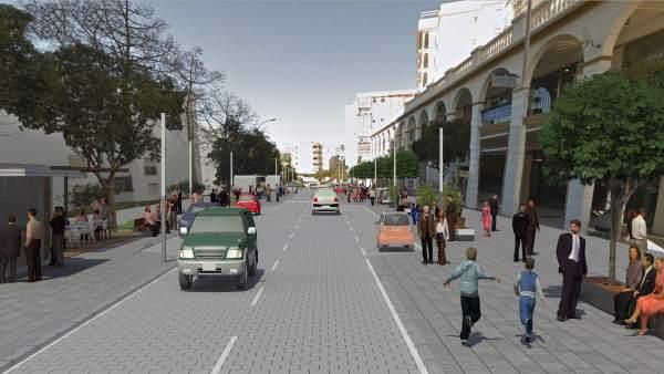 Avenida Andalucía Estepona
