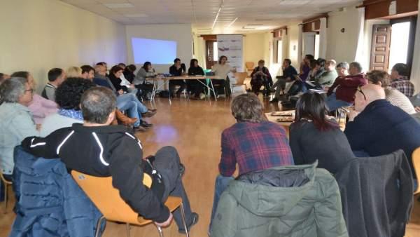Consejo Ciudadano de Podemos Navarra en Puente la Reina