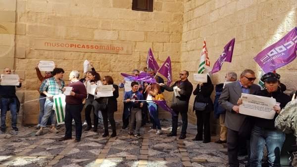 Huelga en el MPM
