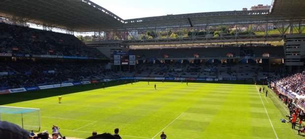 Carlos Tartiere, estadio del Real Oviedo.