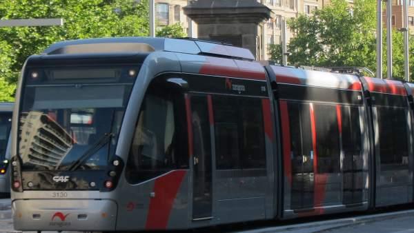 Tranvía de Zaragoza.