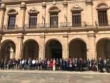 Concentració a Castelló contra el crim d'aquest dimarts