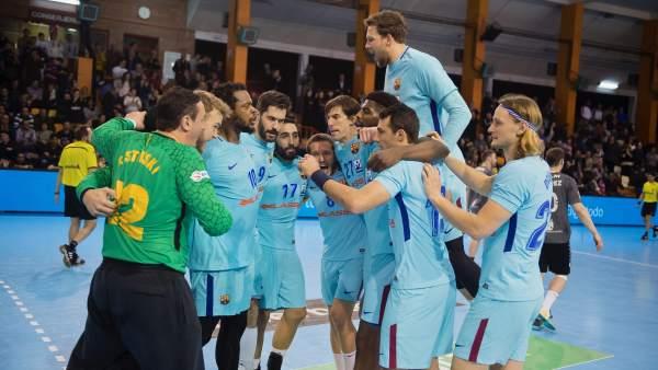 El FC Barcelona Lassa, campeón de Liga ASOBAL en marzo