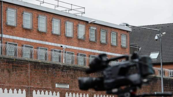 Exteriores de la cárcel de Neumünster, en Alemania, donde permanece el expresident Puigdemont.