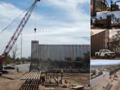 Obras del muro fronterizo